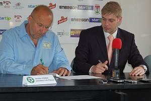 Petr Větrovský se stal generálním ředitelem 1.FK Příbram. Svým podpisem to potvrdil prezident klubu Jaroslav Starka.