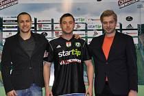 Zleva: Jan Starka, Miroslav Slepička a Petr Větrovský.