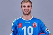Příbramský volejbalista Martin Kop mladší.