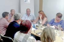 Úvodní společné setkání starostů Centra společných služeb.