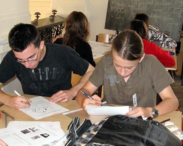 Školáci soutěžili ve znalostech, které se týkají především regionálních témat.