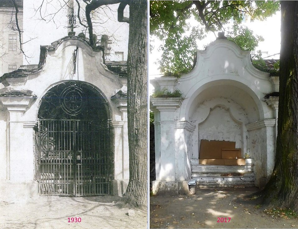 Rožmitál pod Třemšínem - Vedle vchodu je kaple svaté Anny.