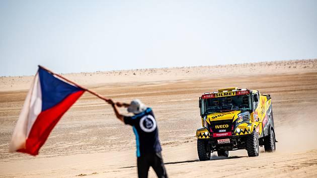 Martin Macík obsadil na Dakaru 2020 páté místo