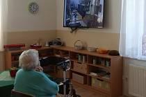 Domov seniorů v Příbrami.