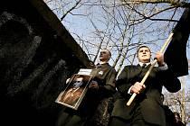 Pohřeb Jana Kučery v Příbrami