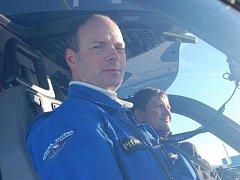 Pilot policejní helikoptéry Bronislav Milián.
