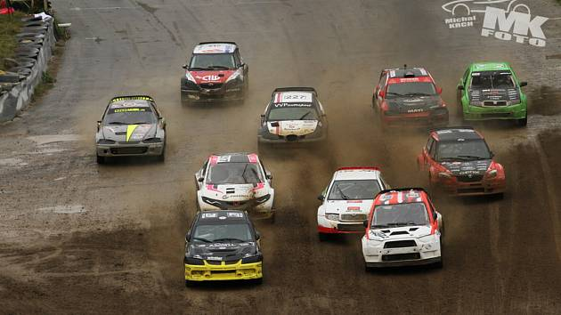 Hobby Auto Rallycross v Sedlčanech.