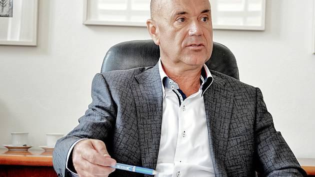 Příbramský starosta Jindřich Vařeka (ANO).
