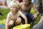 Na děti čekalo na Nováku odpoledne plné her a soutěží.