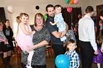 Společenská událost spojená s benefičním účelem přilákala v sobotu 16. února do Pivovaru Podlesí více než stovku rodičů s dětmi.