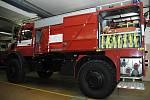 V rámci Dne hasičů a záchranářů mohla veřejnost navštívit hasičskou základnu v Příbrami.