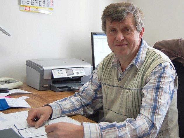Josef Karas, starosta Obecnice.