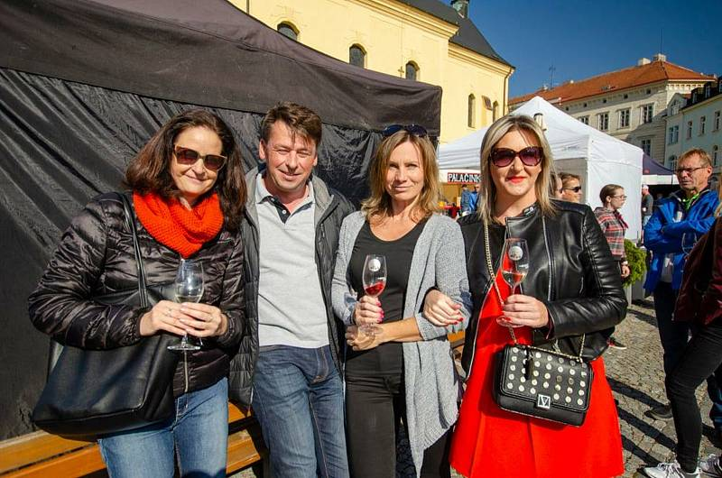 Vinný košt & festival chutí v Příbrami.