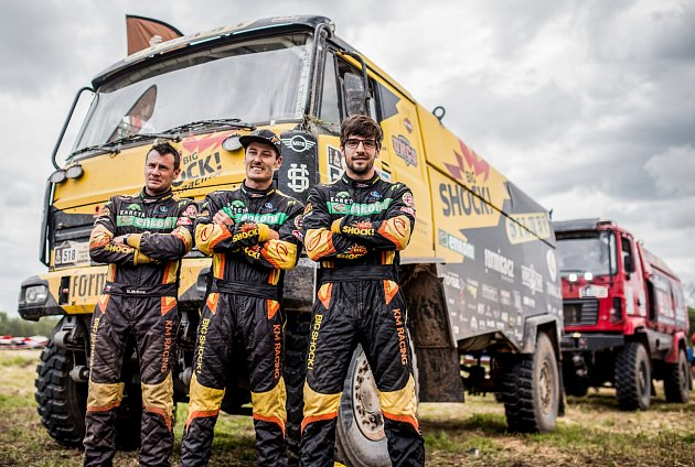 Dakar - Big shock racing team