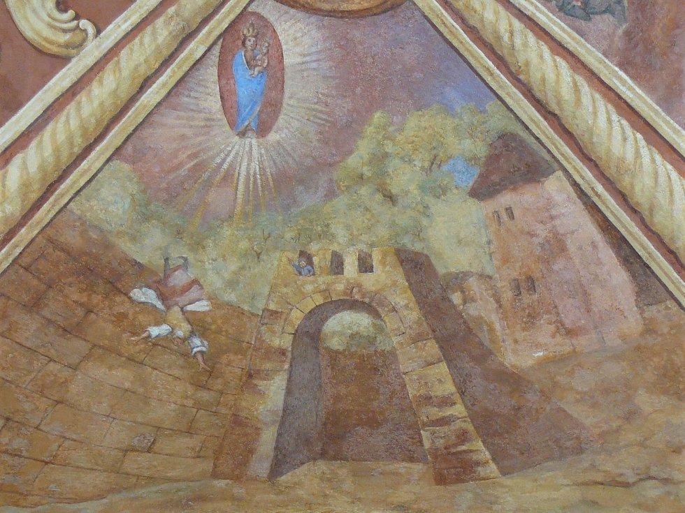 Sto svatohorských milostí: obraz číslo 14.