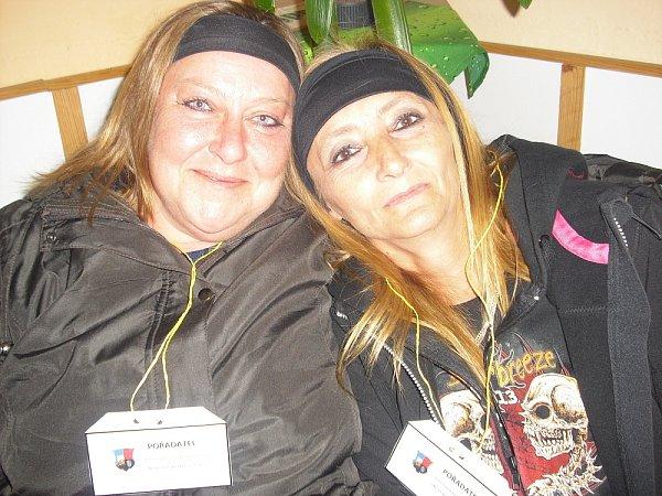 KAMARÁDKY Renata Vainerová a Anna Nováčková.