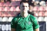 Fotbalista Roman Květ.