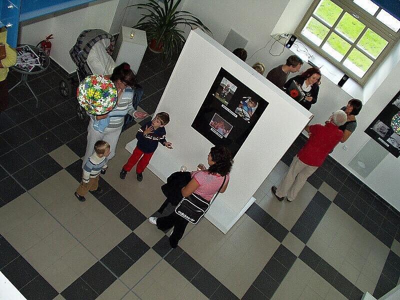 Vernisáž fotografické výstavy v Rožmitále.