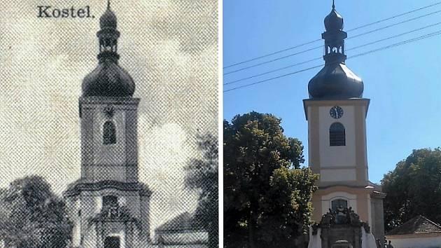 Pičín - Kostel Narození Panny Marie.
