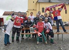 Fanoušci hokeje se sejdou na příbramském náměstí.