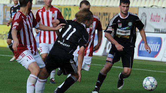 Gambrinus liga: 1.FK Příbram - Viktoria Žižkov (2:1).