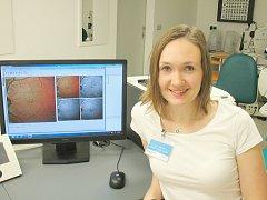 Oční lékařka příbramské nemocnice Adéla Veselá.