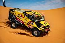 Martin Macík je po polovině Dakaru 2020 na pátém místě.