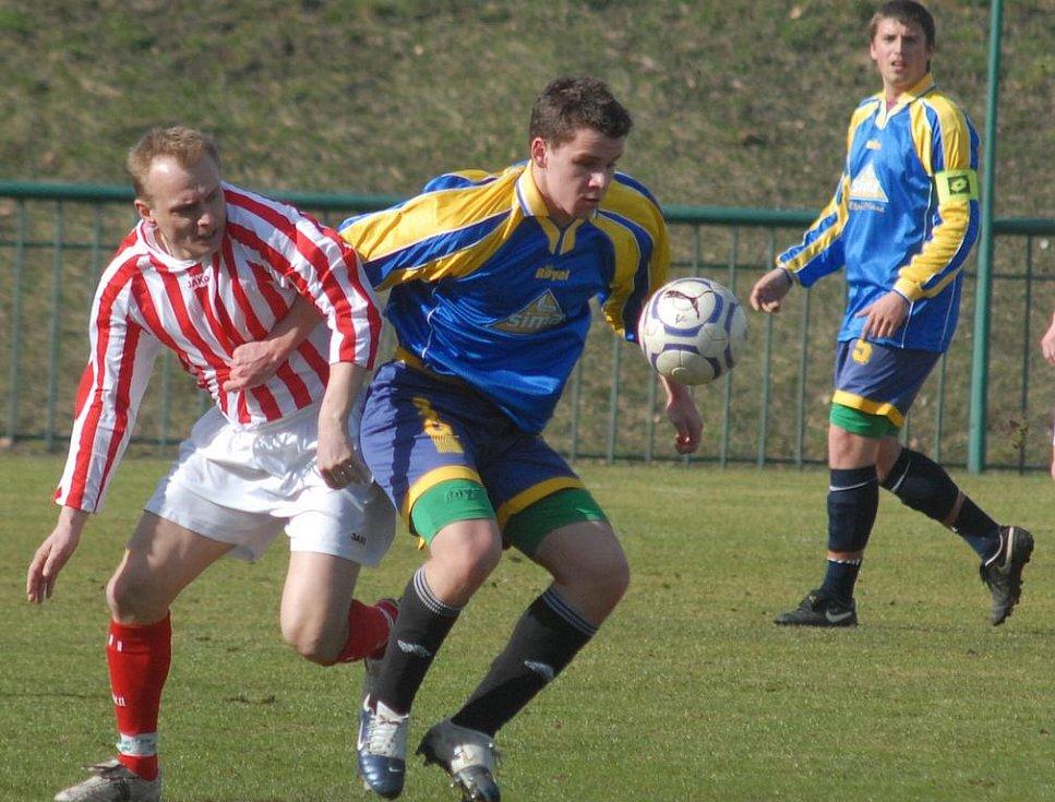 Z utkání krajského přeboru Ligmet Milín - Sokol Zápy (0:3)