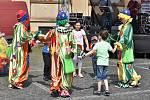 Divadlo patří dětem. Den plný her, zábavy a soutěží pro děti i dospělé v Příbrami.
