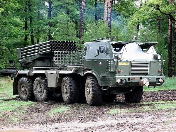 Raketomet vz. 77 bude vyřazen z výzbroje dělostřelecké brigády v Jincích.