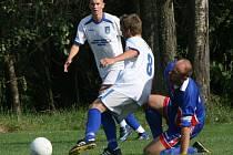 Okresní pohár, 1. kolo: Láz - Rožmitál (0:8).