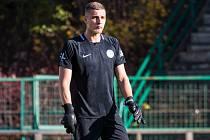 Brankář 1. FK Příbram Ondřej Kočí udržel proti Zlínu druhé čisté konto v sezoně