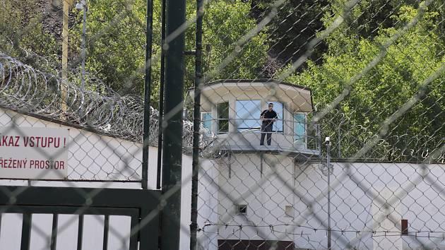 Příbramská věznice na Bytíze. Ilustrační foto.
