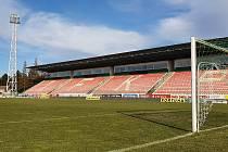 Stadion 1. FK Příbram.