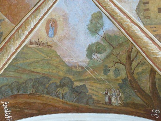 Sto svatohorských milostí: obraz číslo 38.