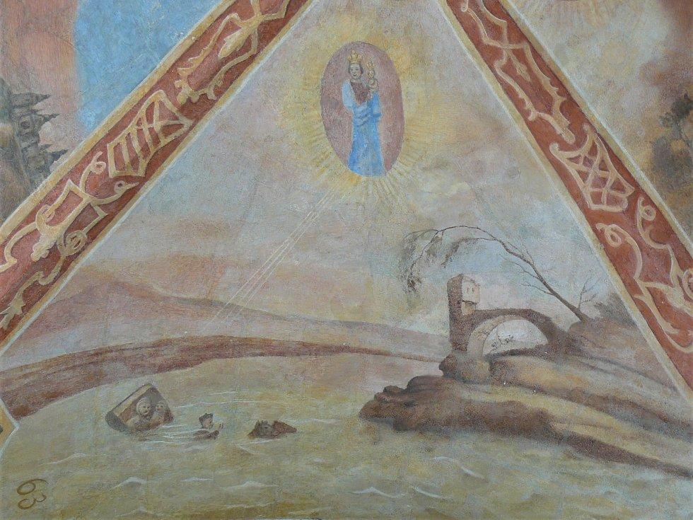 Sto svatohorských milostí: obraz číslo 63.