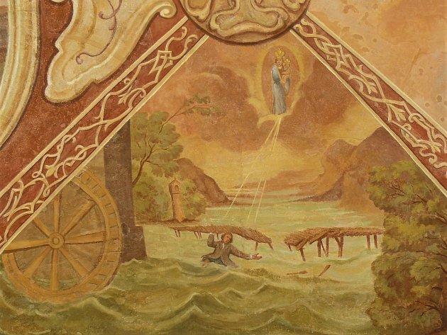 Sto svatohorských milostí: obraz číslo 98.