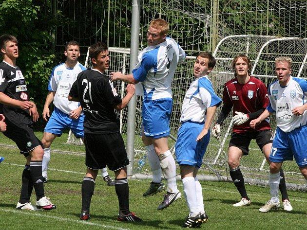 Divize: 1.FK Příbram B - Vlašim B (3:2).