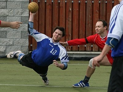 Národní házenkáři Staré Huti hráli další zápasy v 1. lize