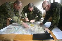 Ujasnění úkolů na místě koordinace palby.