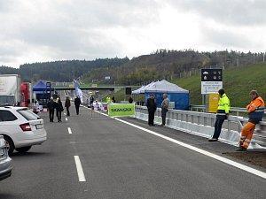 Slavnostní otevření prodloužené dálnice D4