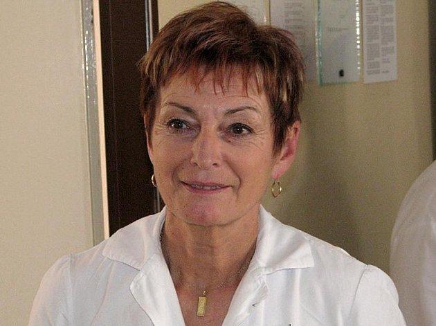 Vlasta Smetanková, 60 let, porodní asistentka, vrchní sestra