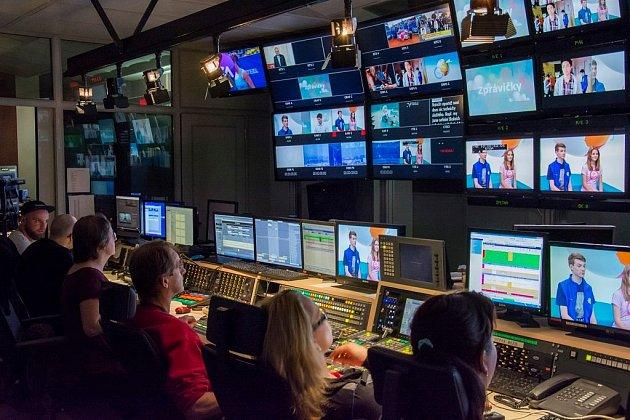 Studenti z příbramské GymTV natočili nejlepší reportáž a vyhráli pozvání do České televize.
