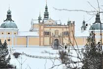 Svatá Hora v zimě.