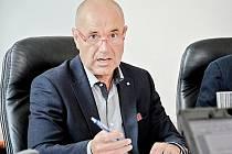 Příbramský starosta Jindřich Vařeka.
