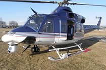 Ani rakovničtí policisté se již bez vrtulníků neobejdou. Procházejí proto speciálním výcvikem.