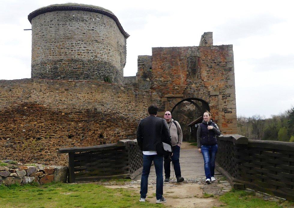 Hrad Krakovec se v úterý 4.května poprvé v letošním roce otevřel veřejnosti
