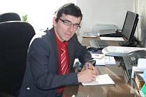 Karel Follber ředitel 1. základní školy Rakovník