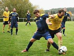 Fotbalisté Olešné si poradili s Ohnivci z Městečka, které zdolali 3:1.