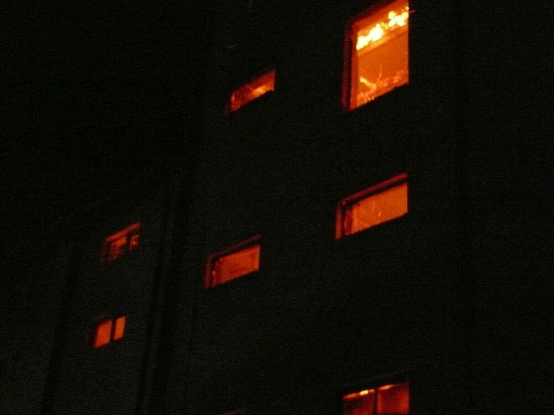 Požár hasilo sedm jednotek
